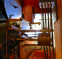 Ridgewayリッジウェイホールクロック修理