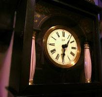 ドイツBaduf錘式掛時計修理