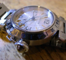 Cartier カルティエ パシャC GMT 腕時計 修理