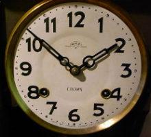 CROWNCLOCKCO堀田時計店クラウンファン掛時計修理