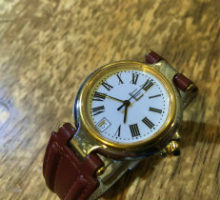 dunhill ダンヒル ミレニアム レディースクォーツ腕時計 オーバーホール
