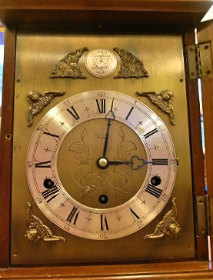 Elliott Leonard Jones Cirencester イギリス エリオット社 置時計修理