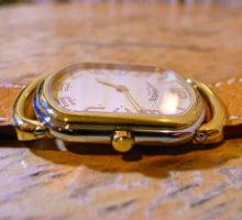 HERMESエルメスラリークオーツ腕時計修理