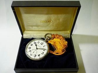 精工舎 24型標準時計化粧箱、紐付