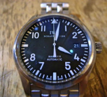 IWCインターナショナルウオッチカンパニーマーク16 自動巻き腕時計修理