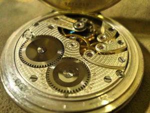 ロンジン懐中時計修理