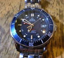 OMEGAオメガシーマスターコーアクシャルGMT自動巻腕時計オーバーホール