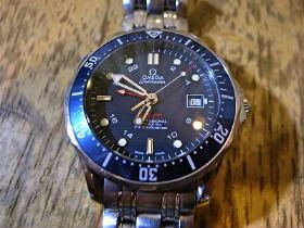 buy popular b7bb2 9c5d2 OMEGA オメガシーマスター コーアクシャルGMT 自動巻腕時計の ...