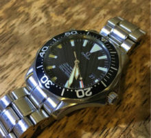 OMEGA オメガ シーマスター プロフェッショナルダイバー 腕時計 オーバーホール