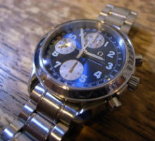 OMEGA オメガ スピードマスタトリプルカレンダー自動巻き腕時計修理