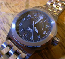 0RISオリス自動巻腕時計修理