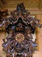 ドイツ オルゴール からくり付きハト時計の修理