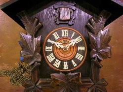 ミケン ハト時計の修理