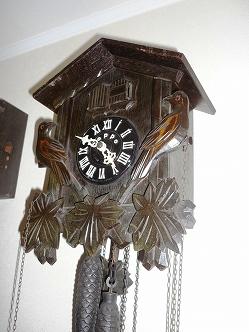 TEZUKA 手塚 テヅカ ハト時計の修理
