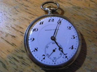 TAVANNES タバネス 懐中時計のオーバーホール