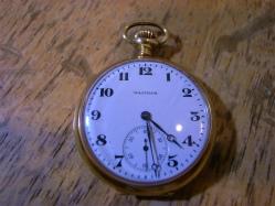 WALTHAM ウォルサム 懐中時計の修理