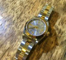 ROLEX ロレックス オイスターパーペチュアル 自動巻腕時計 オーバーホール