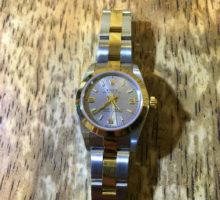 ロレックス オイスターパーペチュアル腕時計修理