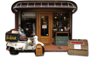 東京西萩窪のアンティーク トライフル店舗画像
