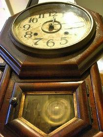 WELCHウエルチ社八角掛時計修理